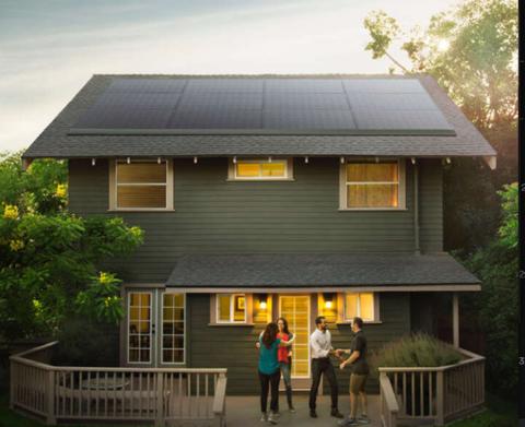 Here Are Tesla S Sleek New Solar Panels