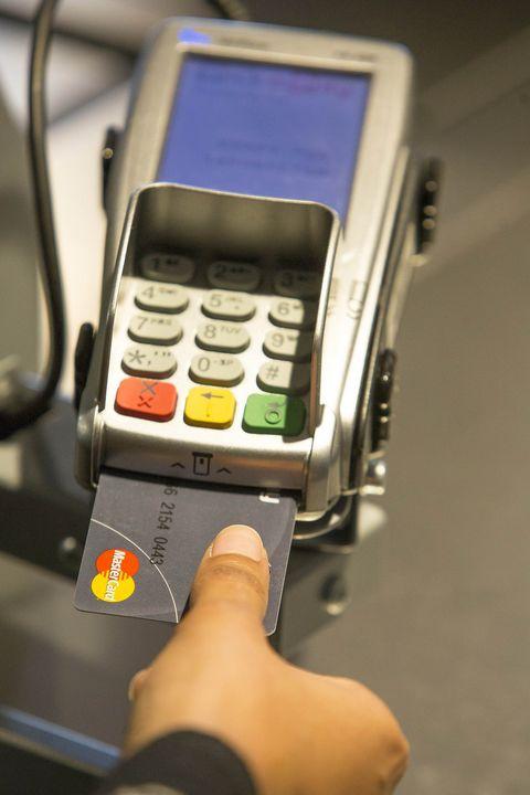 MasterCard Fingerprint Reader