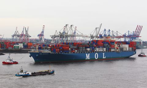 Vehicle, Feeder ship, Boat, Water transportation, Ship, Panamax, Watercraft, Transport, Container ship, Freight transport,