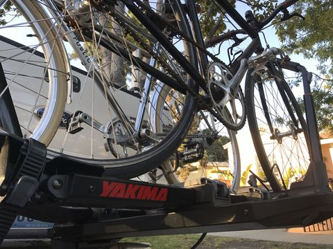 There's No Bike Too Big for Yakima's Dr Tray Hitch Carrier