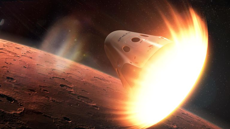 spacex is quitting its red dragon plan for landing on mars