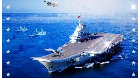 Whoops: Chinese Navy Promotional Poster Accidentally Depicts U.S. Ships