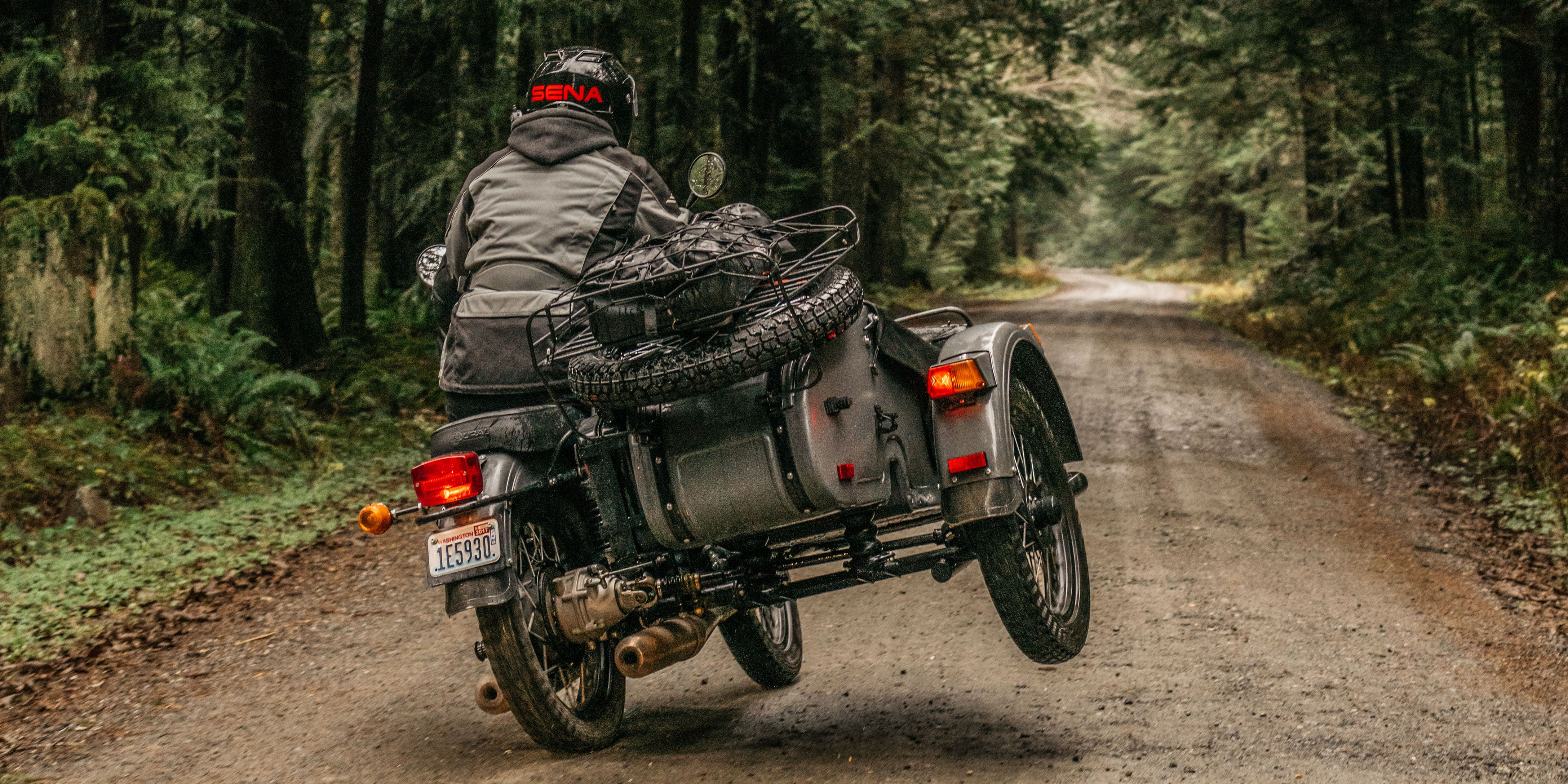 The Ural Sidecar: A Three-Wheeled Russian Motorcycle That Goes