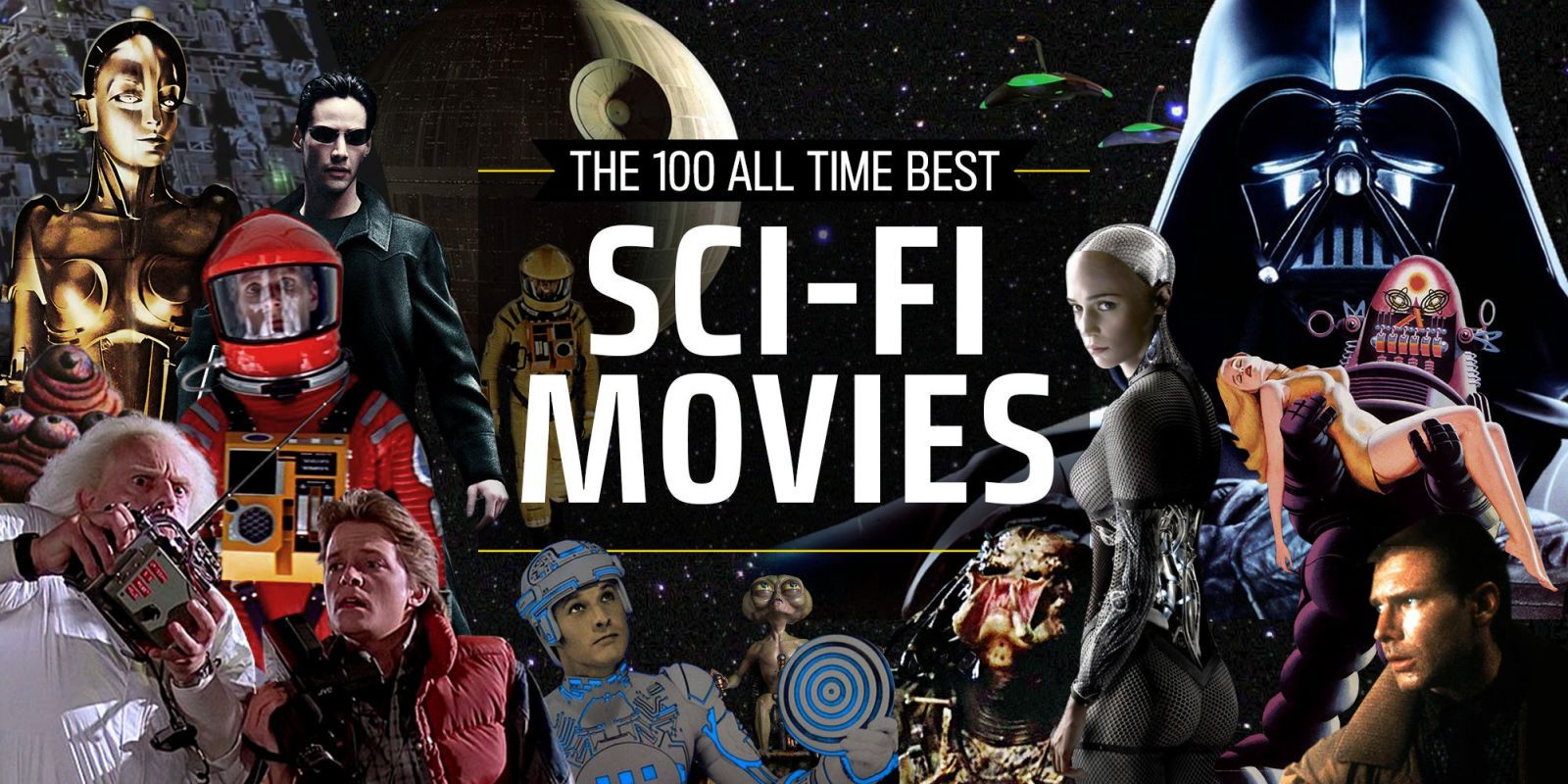 The 100 Best Sci-Fi Movies of All Time