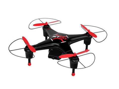 "<p>With incredible speed and power, 3D tumbling, and the ability to livestream in 720p, the&nbsp;<a href=""https://shop.popularmechanics.com/sales/mota-jetjat-live-w-fpv-hobby-drone-with-hd-720p-camera?utm_source=popularmechanics.com&amp;utm_medium=referral&amp;utm_campaign=mota-jetjat-live-w-fpv-hobby-drone-with-hd-720p-camera&amp;utm_term=scsf-227806&amp;utm_content=a0x1a000001slun"" target=""_blank"" rel=""noopener noreferrer"">Mota JETJAT Live-W FPV Hobby Drone</a>&nbsp;is a great choice for pilots who want to show off their skills and have the film to prove it.&nbsp;</p><p><strong data-redactor-tag=""strong"">Buy now:&nbsp;<a href=""https://shop.popularmechanics.com/sales/mota-jetjat-live-w-fpv-hobby-drone-with-hd-720p-camera?utm_source=popularmechanics.com&amp;utm_medium=referral&amp;utm_campaign=mota-jetjat-live-w-fpv-hobby-drone-with-hd-720p-camera&amp;utm_term=scsf-227806&amp;utm_content=a0x1a000001slun"" target=""_blank"" rel=""noopener noreferrer"">$39.99, after a 42% discount</a></strong></p>"