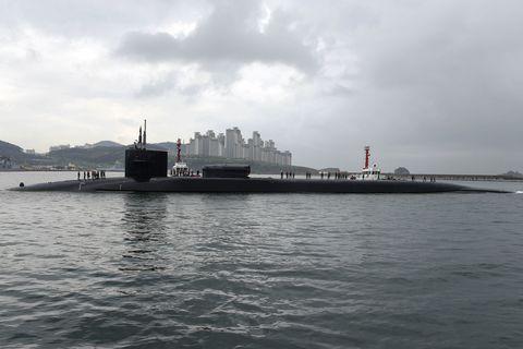 Cloud, Water, Water resources, Waterway, Submarine, Ballistic missile submarine, Watercraft, Cruise missile submarine, Water transportation, Sound,