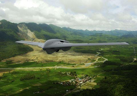 Airplane, Highland, Aircraft, Vehicle, Landscape, Flight, Hill, Northrop Grumman, Aviation, Grassland,
