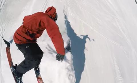 aer gopro toss skier