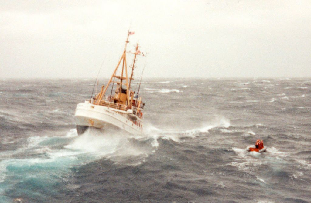 'Perfect Storm' Ship Will Be Sunk for an Artificial Reef