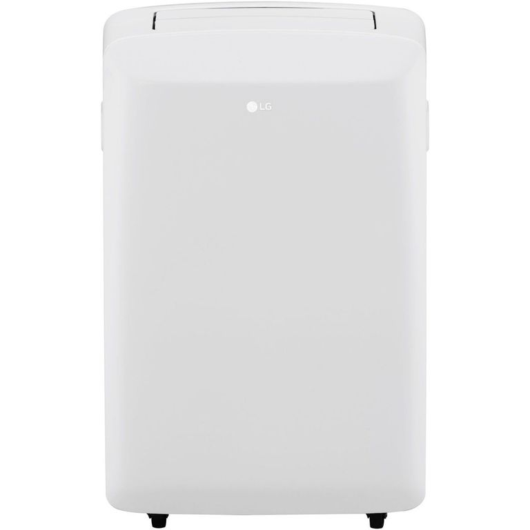 G LP0817WSR 8,000 BTU 115V Portable Air Conditioner with Remote Control in White Portable Air Conditioner