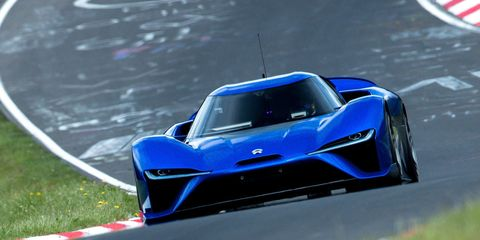 1360-HP Electric Supercar Just Smoked Gas-Powered Cars on the World-Famous Nurburgring