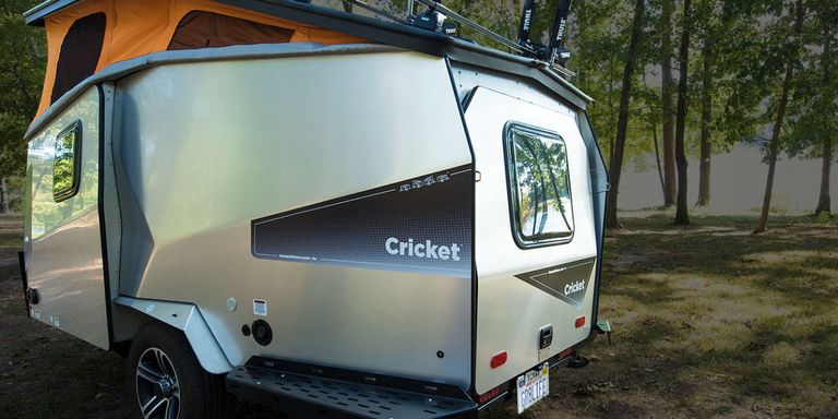 unusual tiny rvs. cricket trailer 10 Best RVs of 2017  Cool Campers for Every Budget