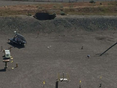 Hanford Tunnel Collapse