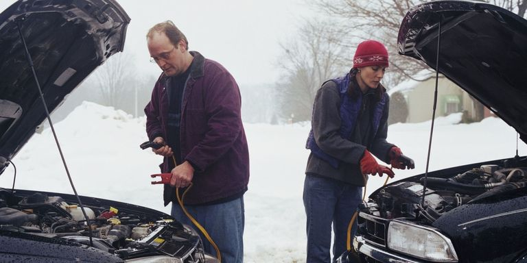 Dead batteries (and needing a boost) is a common consequence of frigid temperatures.
