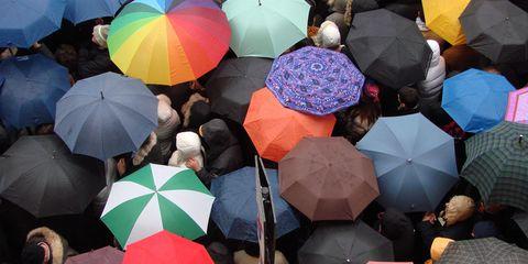 Umbrella, Crowd, Fashion accessory, World,