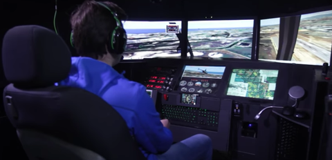 This Flight Simulator Is Made of Cardboard