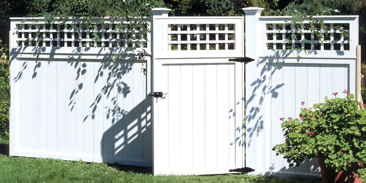 How to Build a Fence - DIY Backyard Fences, Plans & Designs