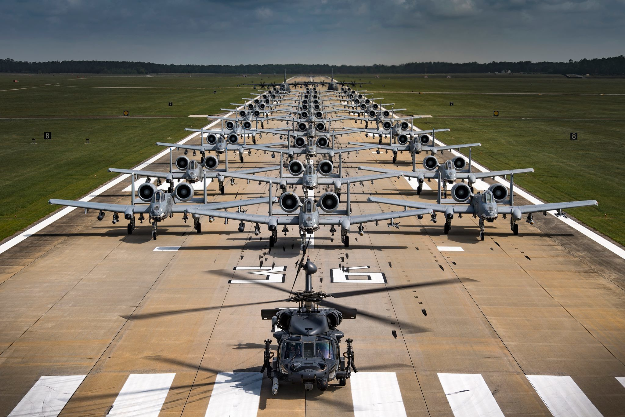 The Air Force Assembled 30 A-10 Warthogs Just to Show That it Can