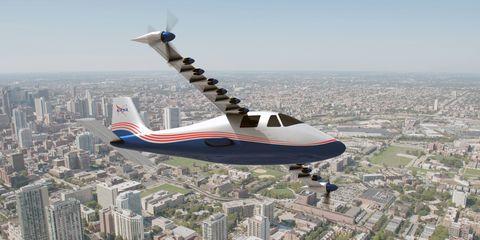 NASA's Next Great X-Plane Will Try to Revolutionize Electric
