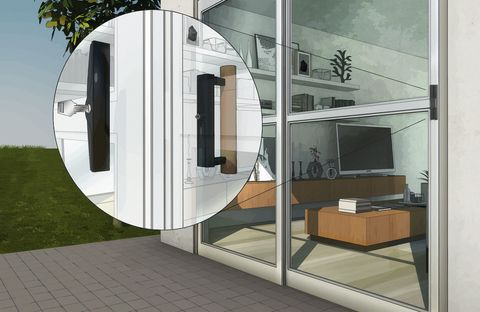 Vehicle door, Architecture, Door, Automotive exterior, Facade, Building, Interior design, House, Room, Glass,
