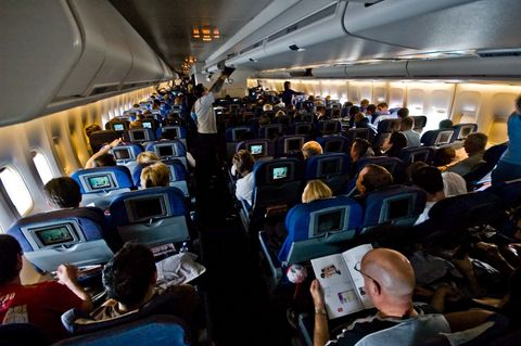 Air travel, Aircraft cabin, Airline, Passenger, Airliner, Airplane, Aerospace engineering, Vehicle, Aircraft, Wide-body aircraft,