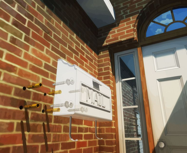 Fresh How to Mount a Mailbox to the Side of Your Home ZV84