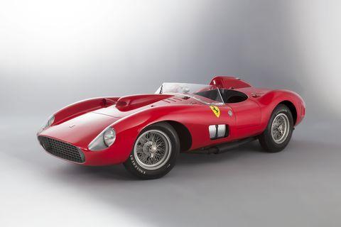 Land vehicle, Vehicle, Car, Sports car, Race car, Classic car, Ferrari monza, Ferrari tr, Coupé, Ferrari 250,