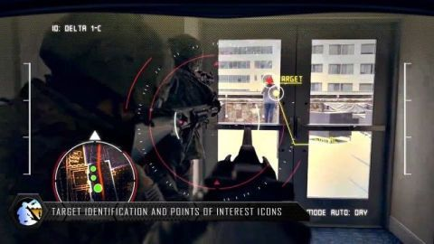 Tactical Augmented Reality in simulated use.