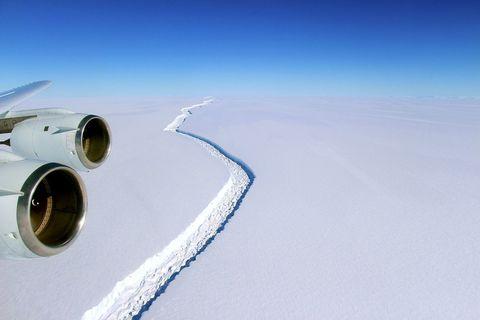 Larsen Ice Shelf Crack