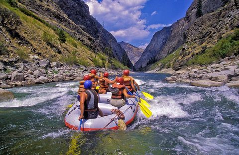 Salmon River whitewater rafting