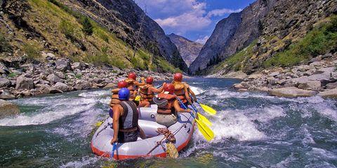 Salmon River whitewater rafting