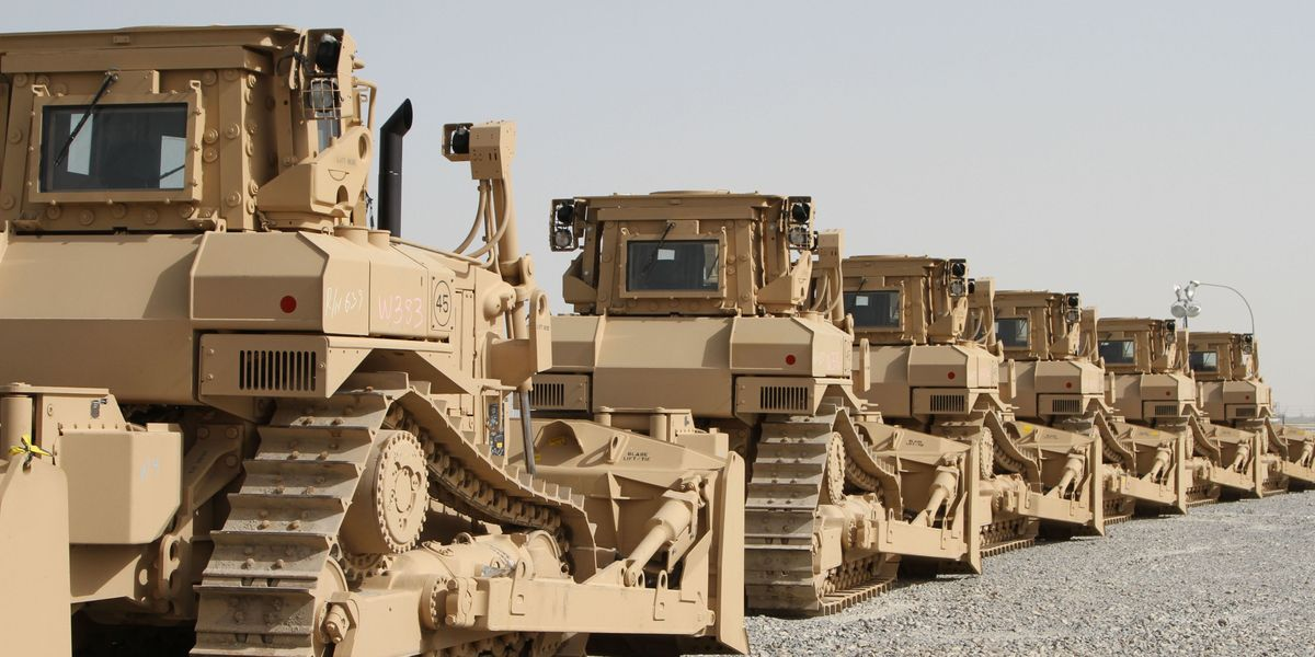Cars For Sale Mobile Al >> Caterpillar Bulldozers Are Leading the Fight Against the ...