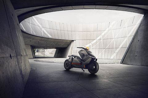 BMW's New E-Scooter Is a Mobility Machine for the Future