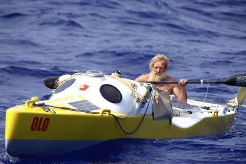 Aleksander Doba In a Kayak