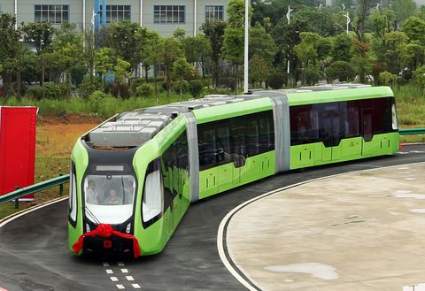 China Self-Driving Train Thing