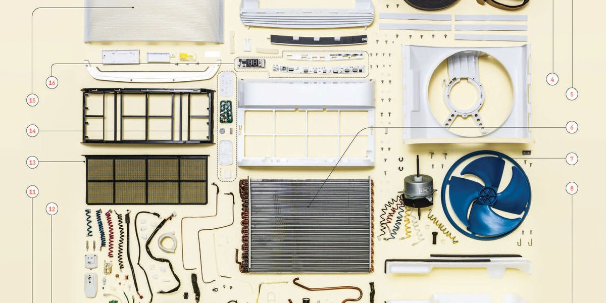 1 2 Cordless Impact >> Things Come Apart: Air Conditioner