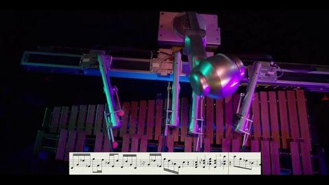 Purple, Magenta, Technology, Violet, Space, Lavender, Engineering, Machine, Sheet music,