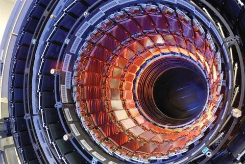 "<p>A CERN experiment at the Large Hadron Collider created the <a href=""http://blogs.nature.com/news/2012/08/hot-stuff-cern-physicists-create-record-breaking-subatomic-soup.html"" data-tracking-id=""recirc-text-link"">highest recorded temperature </a><em data-verified=""redactor"" data-redactor-tag=""em""><a href=""http://blogs.nature.com/news/2012/08/hot-stuff-cern-physicists-create-record-breaking-subatomic-soup.html"">ever</a> </em><span class=""redactor-invisible-space"" data-verified=""redactor"" data-redactor-tag=""span"" data-redactor-class=""redactor-invisible-space"">when it reached 9.9 trillion degrees Fahrenheit. The experiment was meant to make a primordial goop called a quark–gluon plasma behave like a frictionless fluid. </span></p><p><span class=""redactor-invisible-space"" data-verified=""redactor"" data-redactor-tag=""span"" data-redactor-class=""redactor-invisible-space"">That's more than 366,000 times hotter than the center of the Sun.</span></p>"