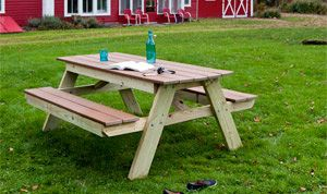 Picnic Table Plans How To Build A Picnic Table - Ready to assemble picnic table