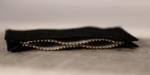 Zipper, Leather, Fashion accessory, Textile, Chain, Wallet,