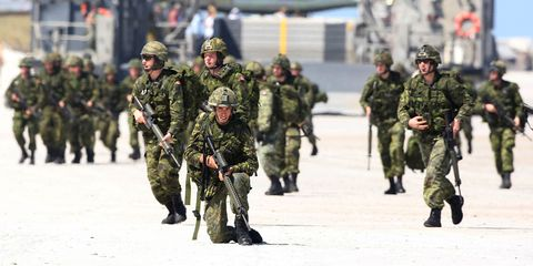 Army, Soldier, Military uniform, Military, Military camouflage, Troop, Military organization, People, Infantry, Military person,