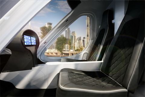 Self-Driving Helicopter Taxis Coming to Dubai