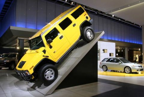 Hummer Plant Sold To Make Electric Cars