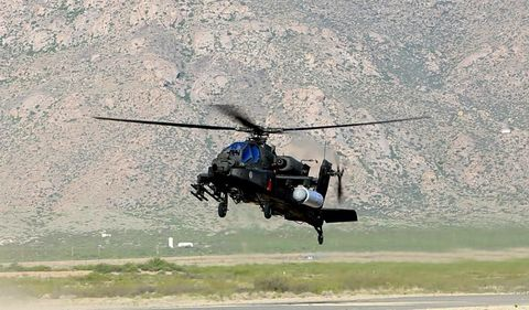 Helicopter, Helicopter rotor, Rotorcraft, Vehicle, Aircraft, Military helicopter, Aviation, Flight, Sikorsky s-61r, Air force,
