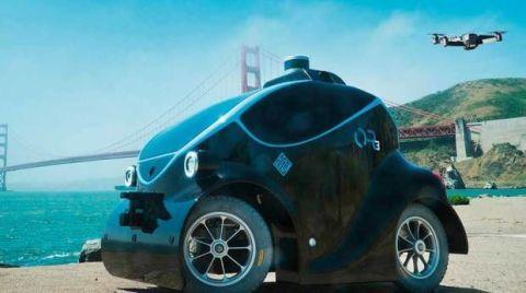dubai robot car