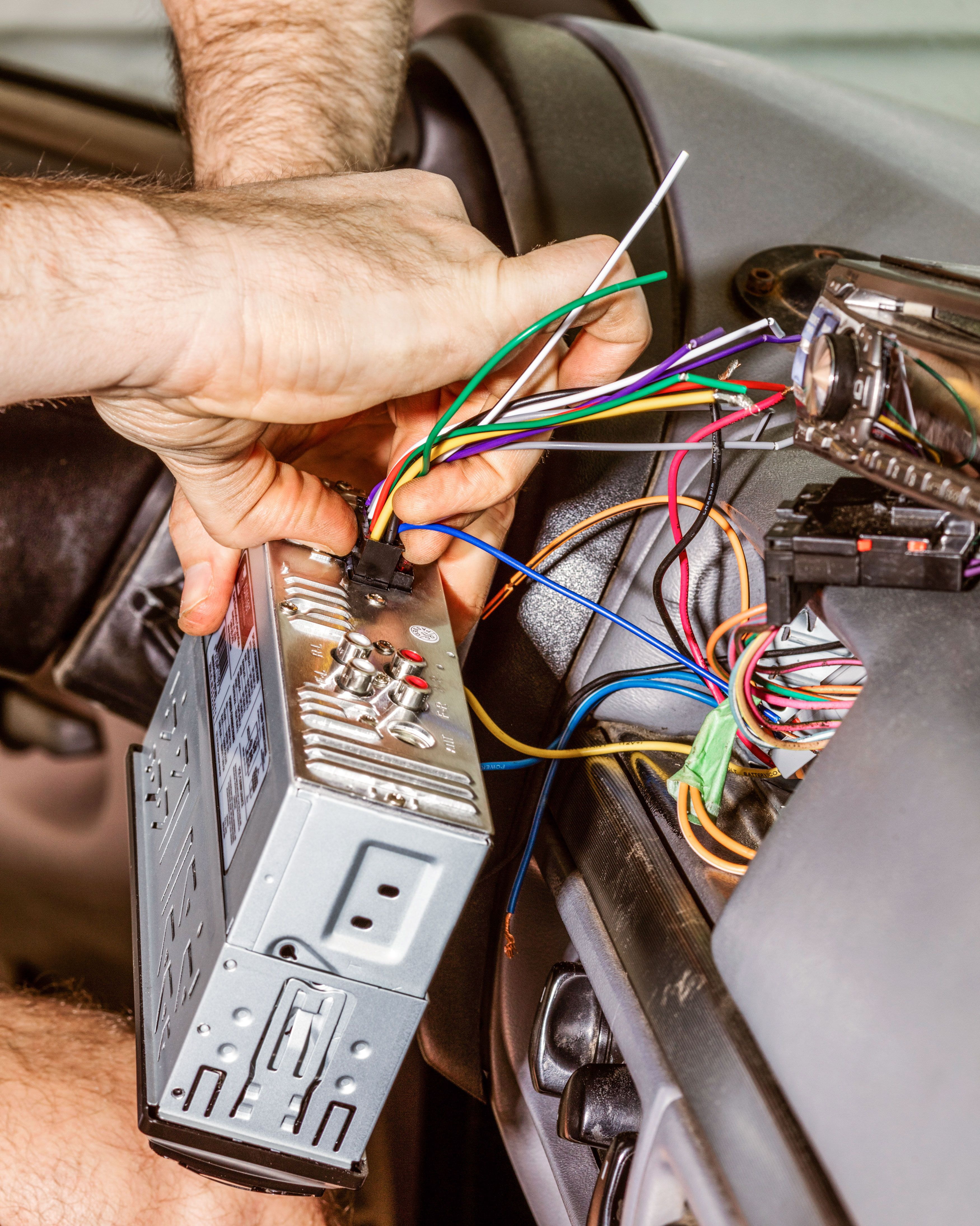 Old Car Stereo Wiring To New Wire Center House No Ground How Update Your Rh Popularmechanics Com Schematic Romex