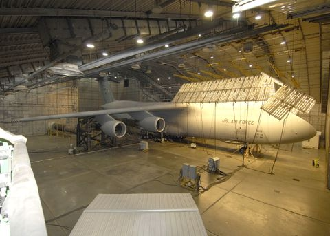 Hangar, Aerospace engineering, Airplane, Aircraft, Vehicle, Aviation,