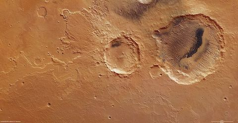 Enormous Impact on Mars Could Have Created Mysterious Group of Asteroids