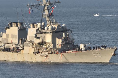 Vehicle, Naval ship, Warship, Ship, Navy, Boat, Destroyer, Watercraft, Guided missile destroyer, Fast combat support ship,