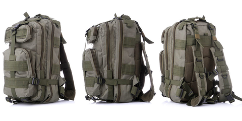 Khaki, Personal protective equipment, Baggage, Bag, Backpack, Military camouflage, Camouflage,